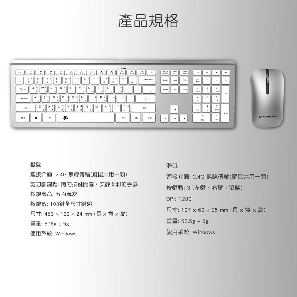 RF460,2.4G,無線鍵盤,無線滑鼠,連接器
